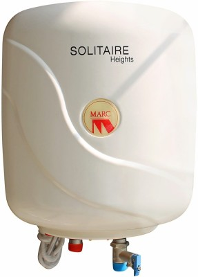 Marc 6 L Storage Water Geyser(White, Solitare 6ltr)