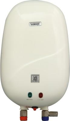 Sunhot 1 L Instant Water Geyser(White, Mini Heater (Ivory))