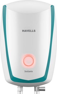 Havells 3 L Instant Water Geyser(White, Blue, Instanio 3L White Blue)