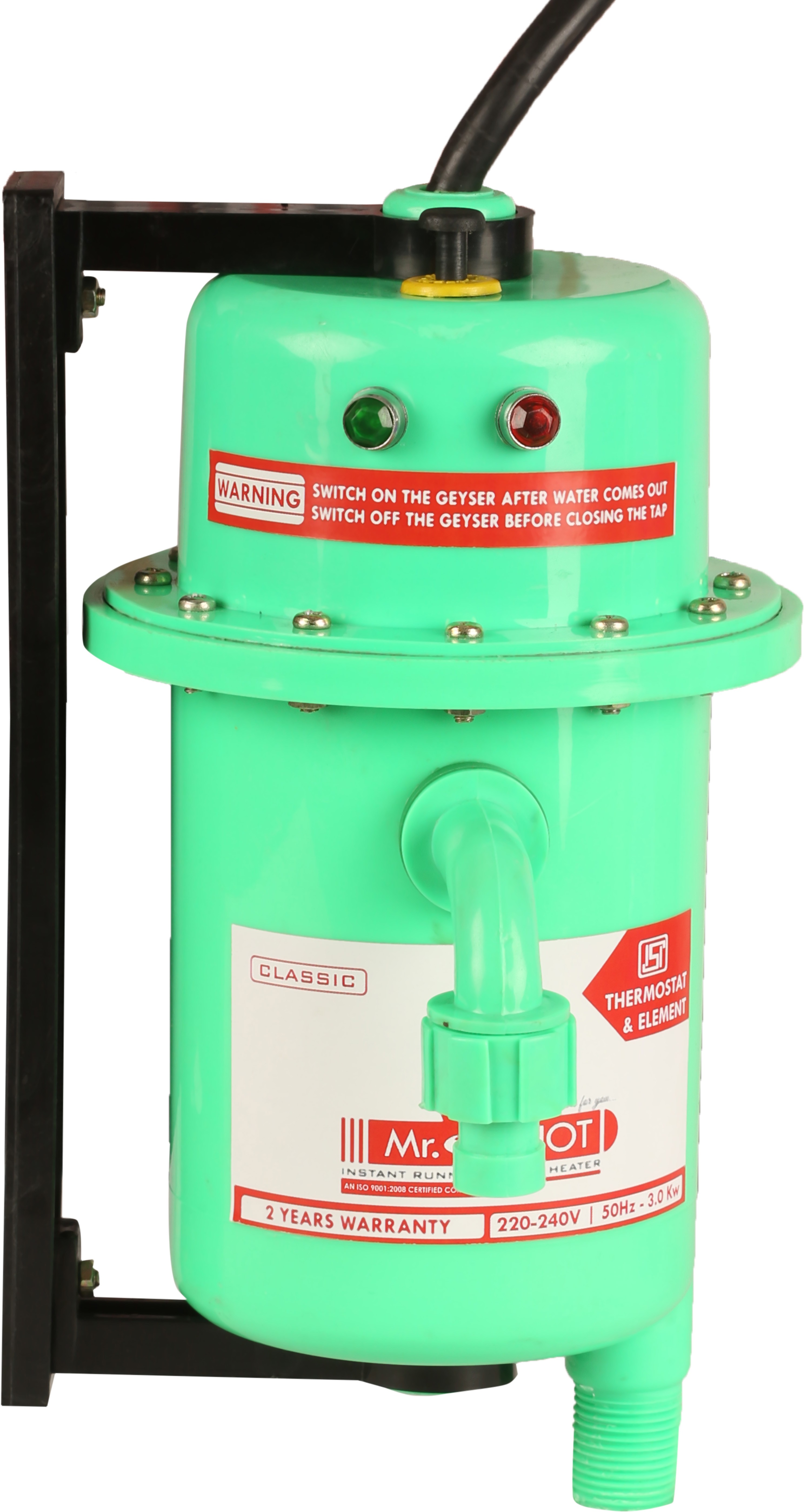 View Mr.Shot 1 L Instant Water Geyser(Green, Classic) Home Appliances Price Online(Mr.Shot)