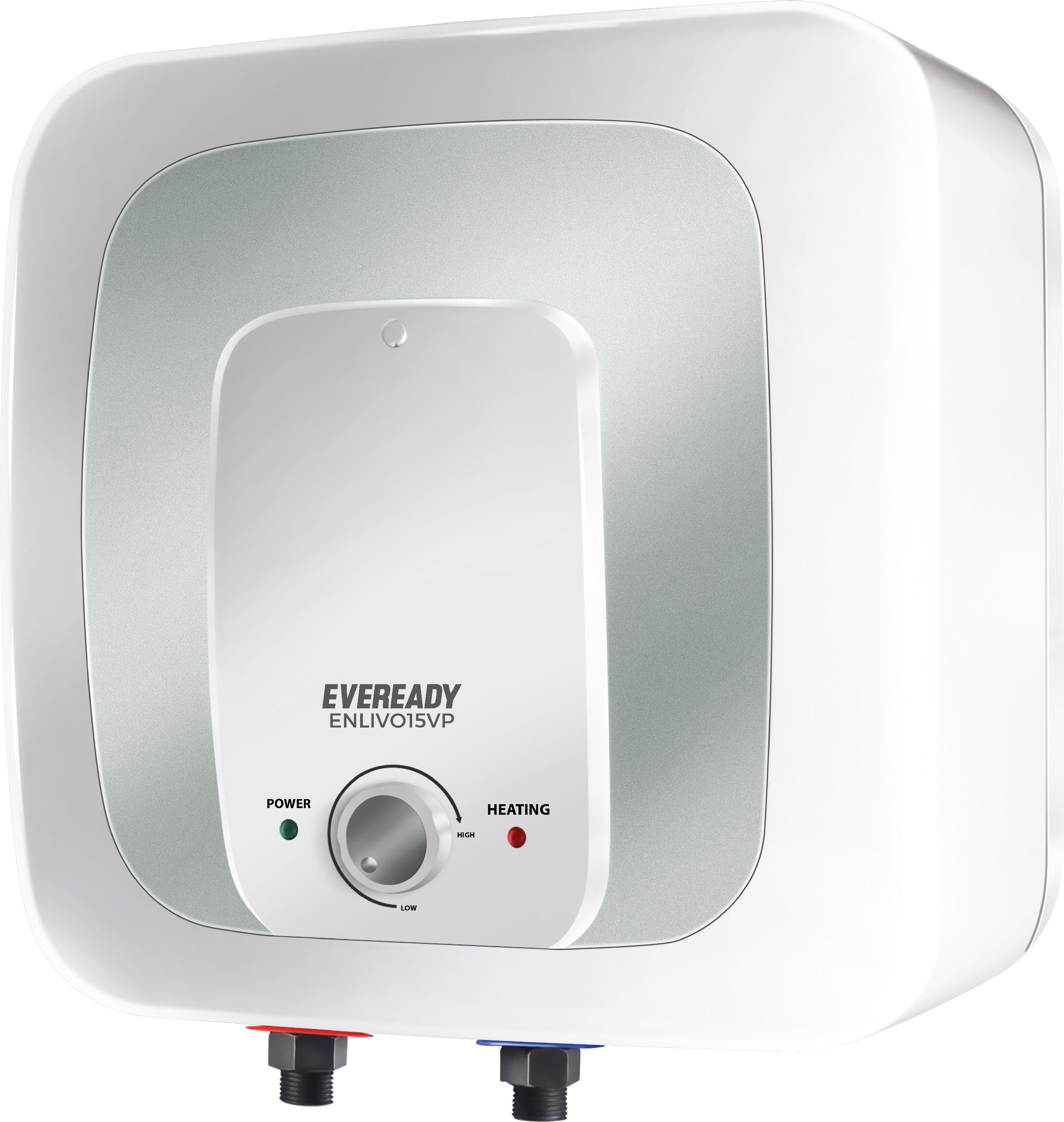 Geyser Water Heater Ao Smith Hse Sas 10 Electric Eveready 15 L Storage Geyserwhite Enlivo15vp