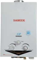 Sameer 6 L Gas Water Geyser(White, Spout)