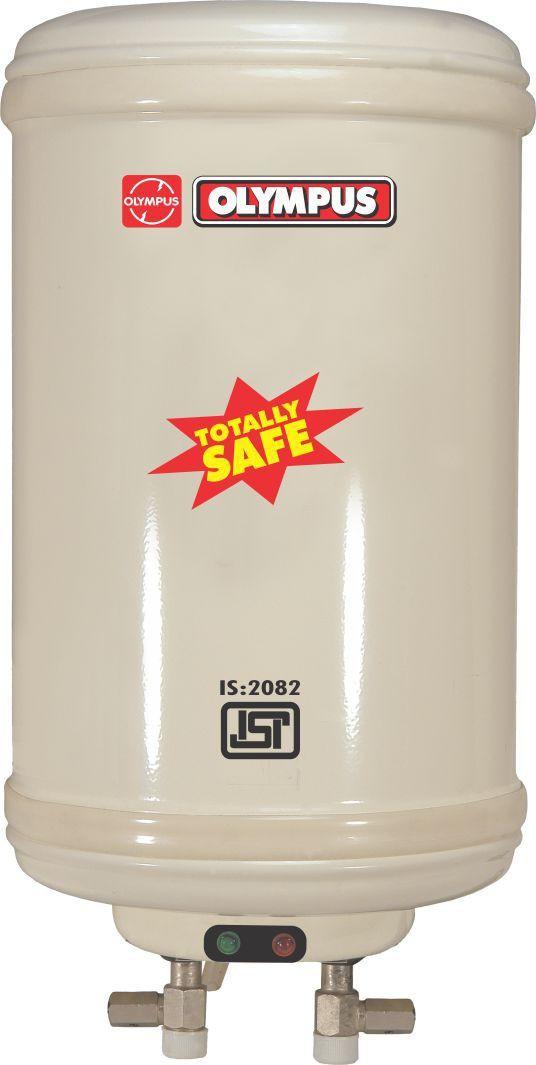 View Olympus 15 L Storage Water Geyser(White, Delux) Home Appliances Price Online(Olympus)