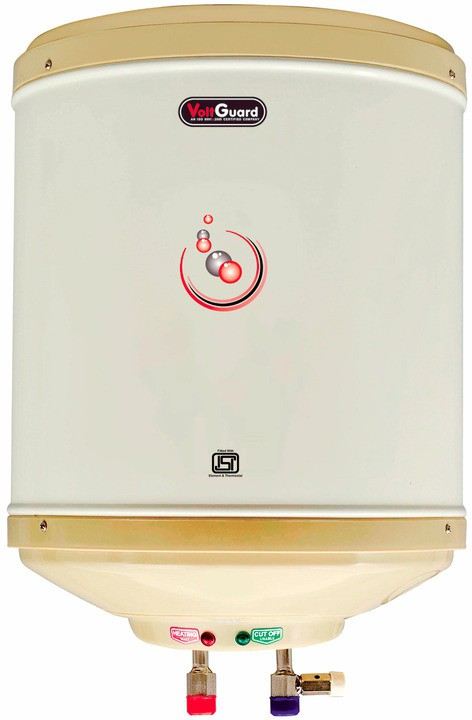 View VOLTGUARD 35 L Electric Water Geyser(White, 5 STAR AMAZON) Home Appliances Price Online(VOLTGUARD)