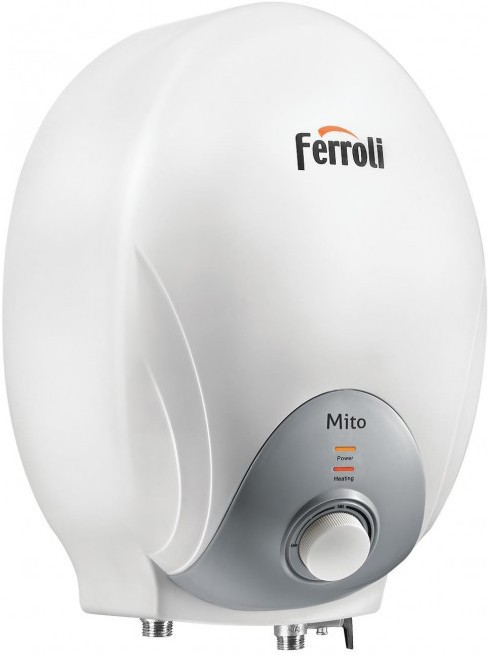 View Ferroli 6 L Instant Water Geyser(White, Mito) Home Appliances Price Online(Ferroli)