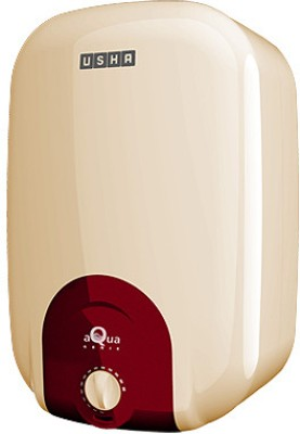 Usha 15 L Storage Water Geyser(White, Yellow, Aquagenie)