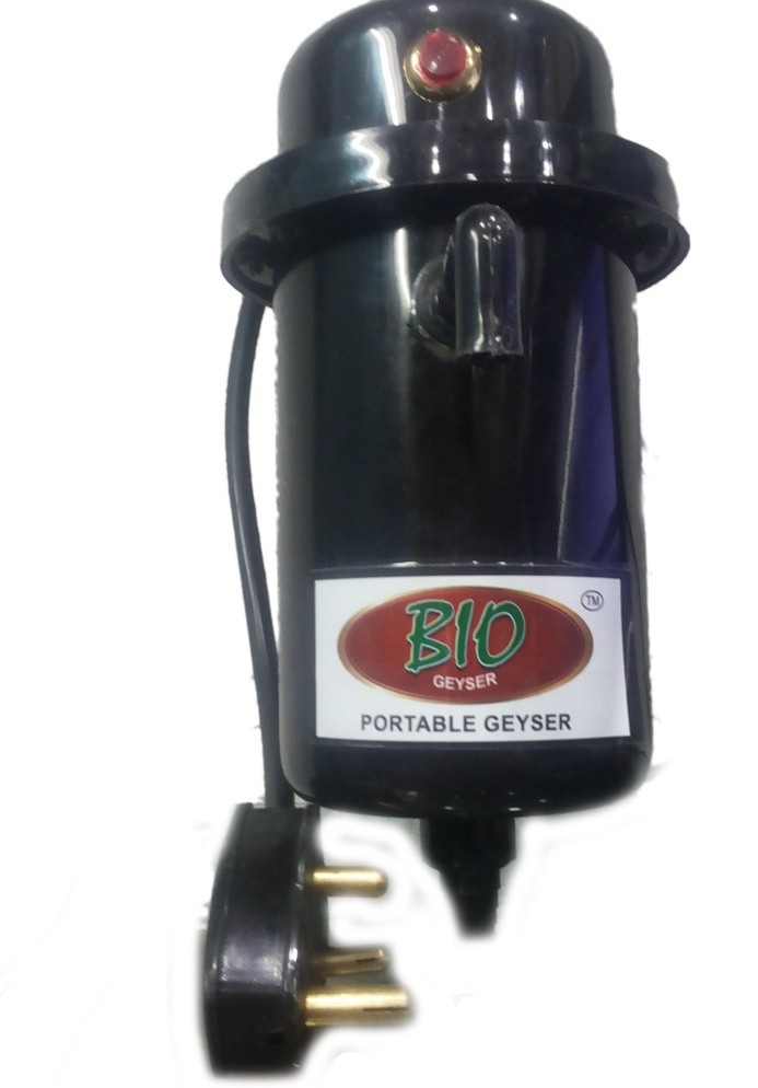 View Ruchi World 1 L Instant Water Geyser(Black, bio) Home Appliances Price Online(Ruchi World)