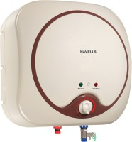 Havells 10 L Storage Water Geyser(Ivory, Brown, Quatro_10L)