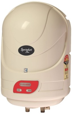 V-Guard 15 L Storage Water Geyser(Ivory, Sprinhot Plus)