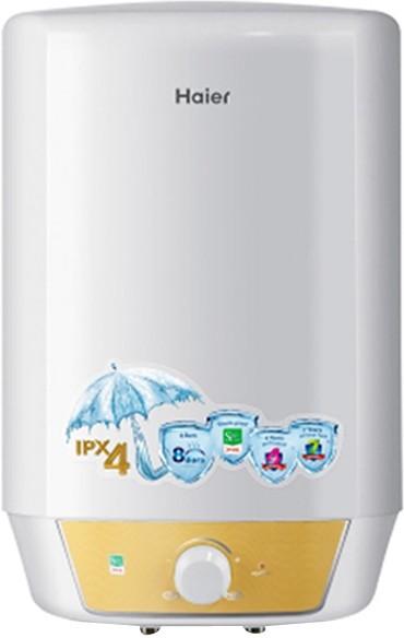 View Haier 15 L Storage Water Geyser(White, Quadra - M3) Home Appliances Price Online(Haier)