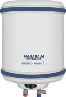 Maharaja Whiteline 25 L Storage Water Geyser(White, Blue, Water Heater Classico Super 25 Ltr)