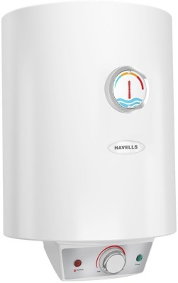 Havells 15 L Storage Water Geyser(White, Monza EC)