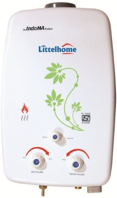 Littelhome 6.5 L Gas Water Geyser(White, Geyser)
