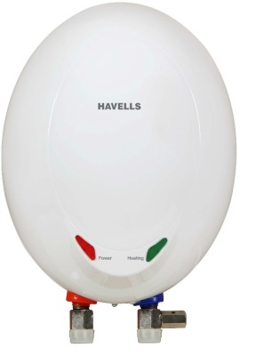 Havells 1 L Instant Water Geyser(White, Opal EC 1L 3KW)