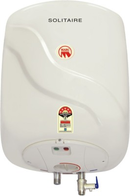 Marc 10 L Storage Water Geyser(White, 10ltr Solitare)