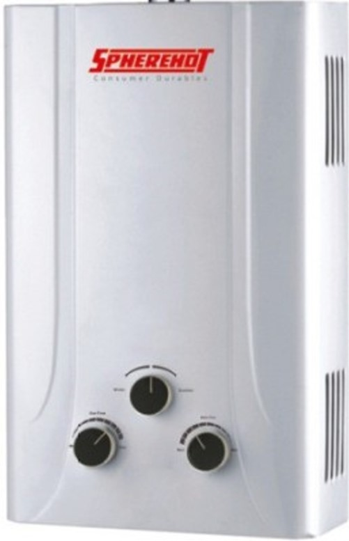 View Spherehot 6 L Gas Water Geyser(White, REVERA ULTRA) Home Appliances Price Online(Spherehot)