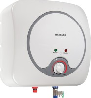 Havells 10 L Storage Water Geyser(White, Grey, Quatro_10L)