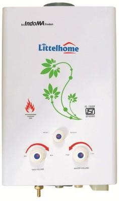 Littelhome 6 L Gas Water Geyser(White, Geyser)