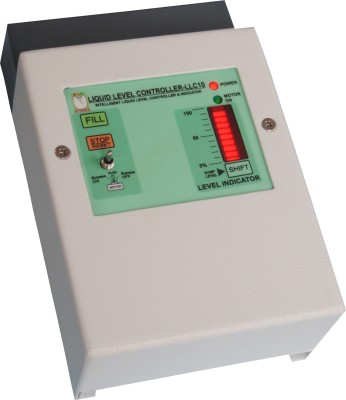 Aampal Automatic Water Level Controller And Indicator For Bore well motor Tank support DOL starters Water Leak Detector
