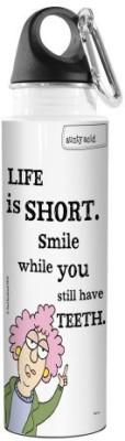 Tree-Free Greetings 532 ml Water Purifier Bottle(White)