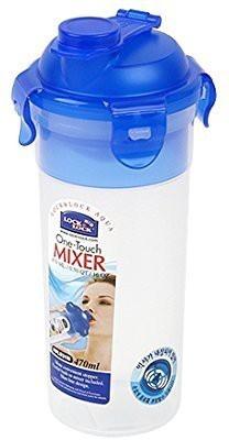 LockandLock Water Bottle 470 ml Water Purifier Bottle(Blue)