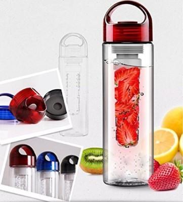 Water Bottle 700 ml Water Purifier Bottle(Red)