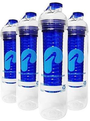 Pelican Water 798 ml Water Purifier Bottle(Blue)