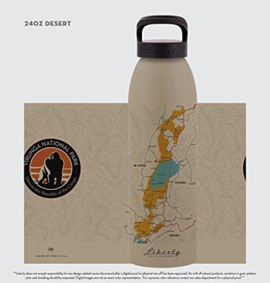 Virunga National Park 710 ml Water Purifier Bottle