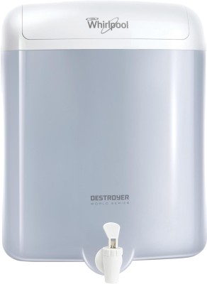 Whirlpool Destroyer EAT Filter 6 L EAT Water Purifier(White)
