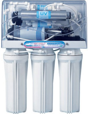 Kent Excell Plus 7 L RO + UV Water Purifier(White)