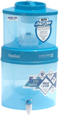 Eureka Forbes 10ltr Maxima 1500 10 L EAT Water Purifier(Blue)