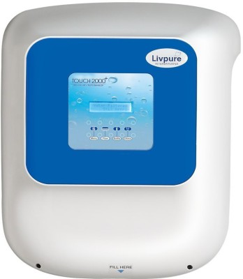 Livpure Touch 2000 Plus 8.5 L itre RO UV UF Water Purifier