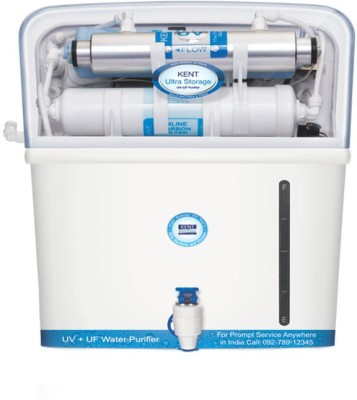 Kent ULTRA STORAGE 7 L UV + UF Water Purifier(Blue)