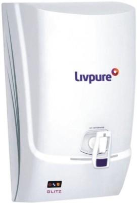 Livpure Glitz 7 L UV + UF Water Purifier(White)