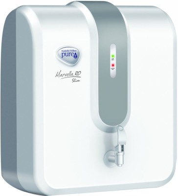 Pureit Marvella Slim RO 4 L RO Water Purifier(White & Grey)