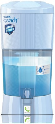 Tata Swach Silver Boost 27 L Gravity Based Water Purifier(Blue)