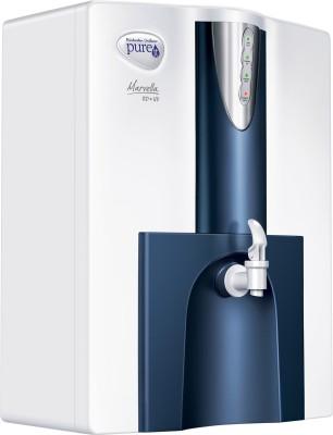 Pureit Marvella RO + UV 10 L RO + UV Water Purifier(White & Blue)
