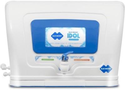 Blue Mount BM21 IDOL UV UF Water Purifier(White, Blue)