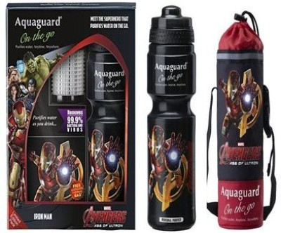 Aquaguard On The Go 0.750 L Gravity Based Water Purifier(Black)