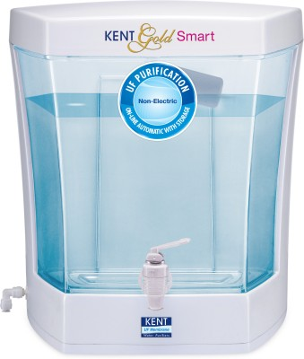 Kent Gold Smart 7 L UF Water Purifier(White & Blue)