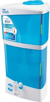 Tata Swach Cristella+ 9 L Gravity Based Water Purifier(Blue & White)