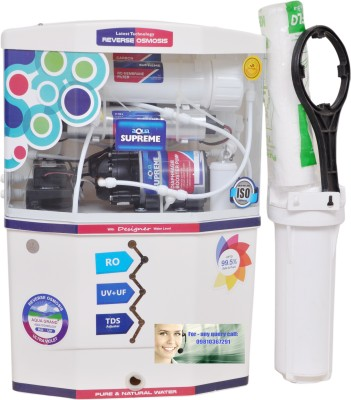 Aquagrand Plus Supreme With 14 stage And Pre Filter 18 L RO + UV +UF Water Purifier
