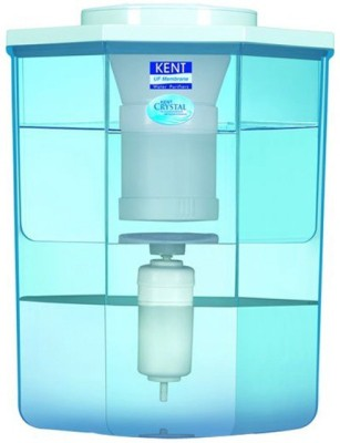 Kent Crystal 15 L UF Water Purifier(White & Blue)