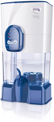 Pureit Classic 14 L 14 L Gravity Based Water Purifier(White, Blue)