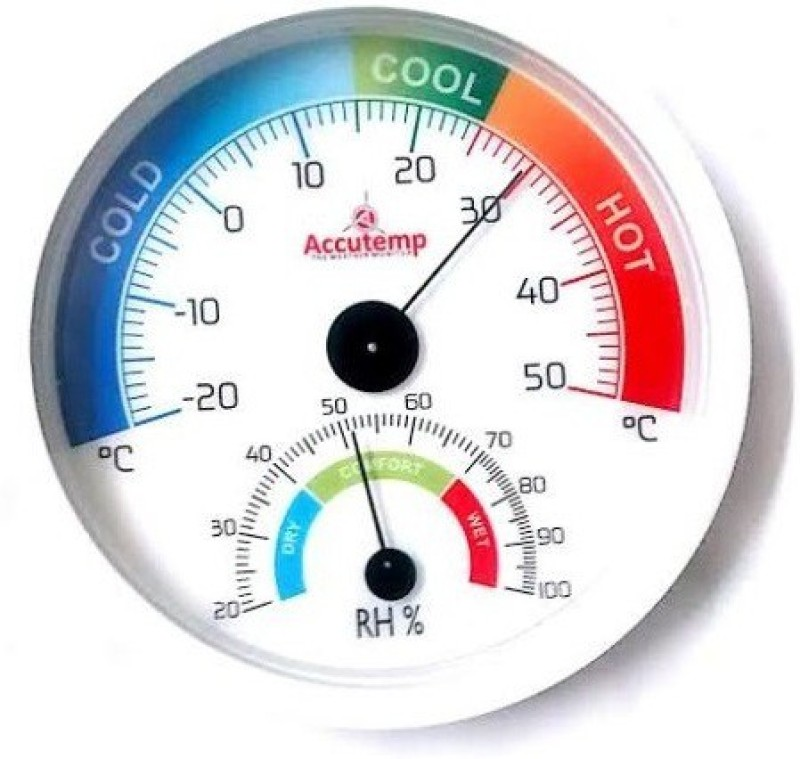 AccuTemp Thermohygrometer IP-THM-301W Weather Station(Basic Series)