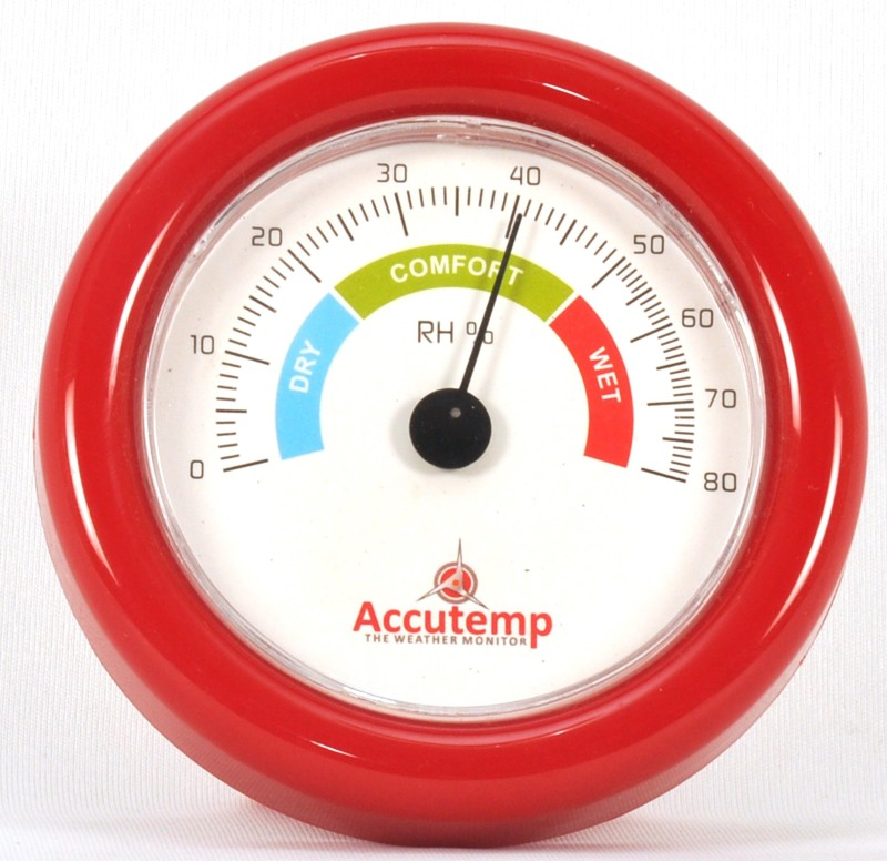 AccuTemp Small Dial Hygrometer IIP-THM-401 Weather Station(Basic Series)