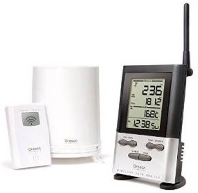 Oregon Scientific Oregon Wireless Rain Gauge With Outdoor Thermometer RGR126N Weather Station(Basic Series)