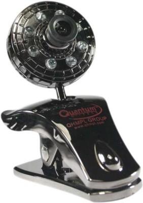 Quantum Quantum QHM500 LM WebCam (8 Lights/30 Megapixel) Webcam(Black)