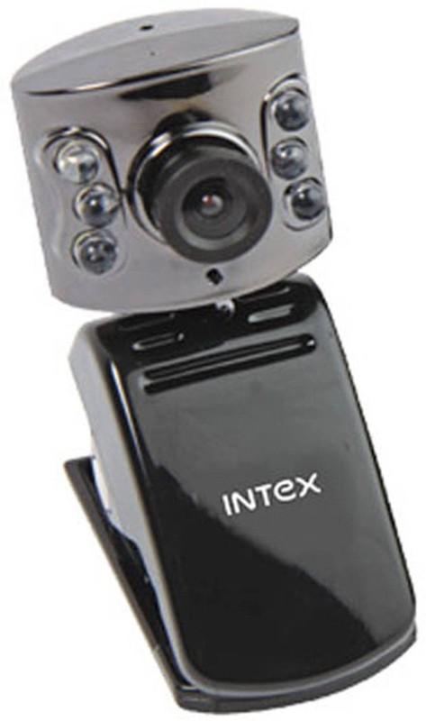 Intex Intex Web Cam Night Vision 600k  Webcam(Black)