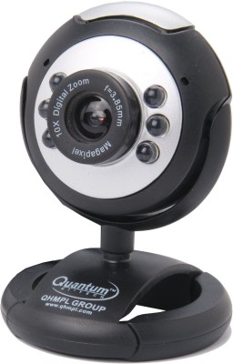 Quantum Quantum QHM495 LM Web Camera Webcam(Multicolor)